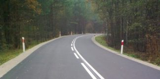 Przebudowa ciągu dróg powiatowych Tuchola – Tleń – Osie - po