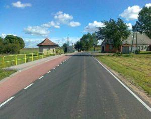 Przebudowa drogi powiatowej nr 1233C Lniano - Bramka - po