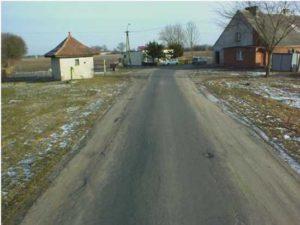 Przebudowa drogi powiatowej nr 1233C Lniano - Bramka - przed