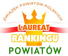 Logo Laureat Rankingu Powiatów