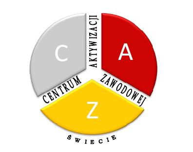 Logo Centrum Aktywizacji Zawodowej Świecie