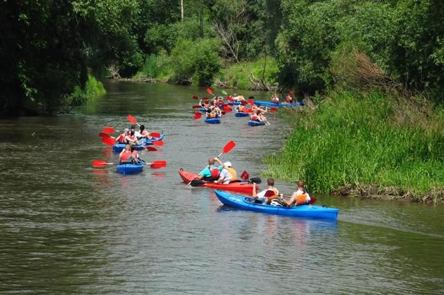 Spływy kajakowe w Borach Tucholskich