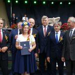 Powiat Świecki zajął III miejsce w konkursie na najładniejszy tradycyjny wieniec dożynkowy