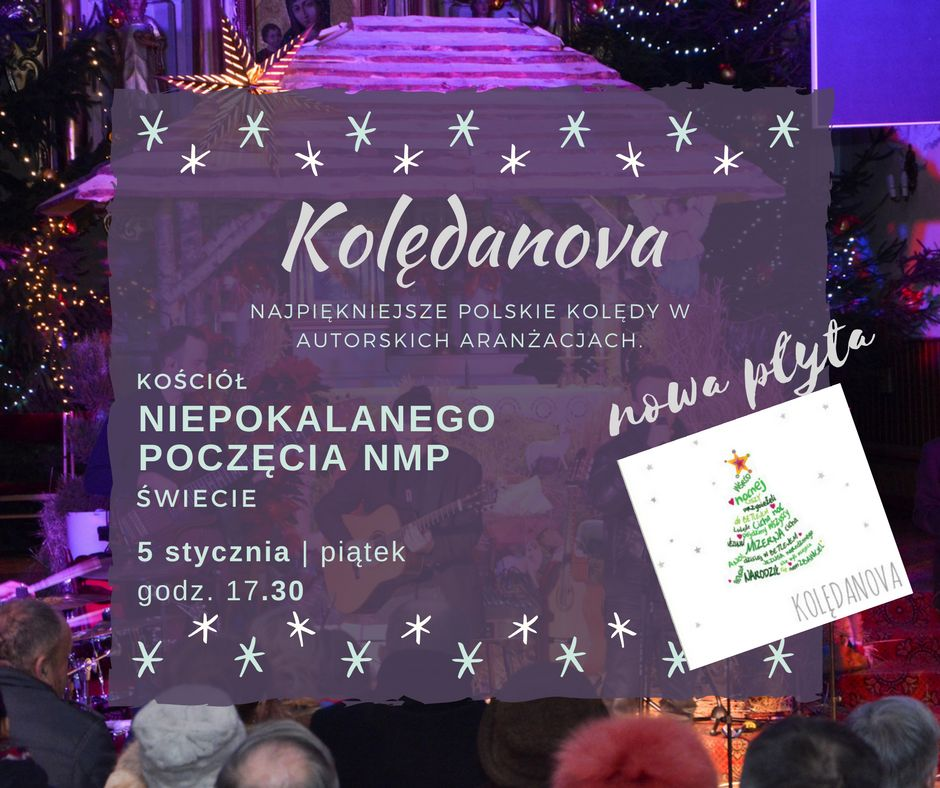 Plakat Kolędanova
