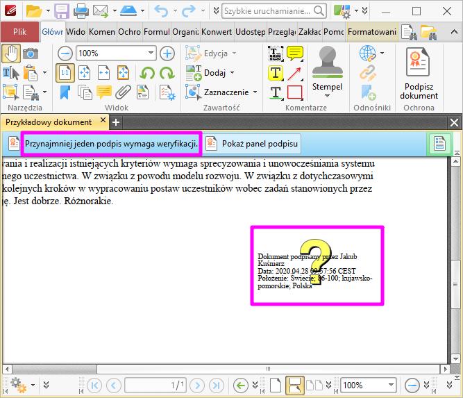 PDF XChange Editor Brak Weryfikacji2