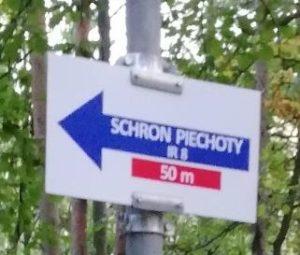 Znak Schron IR8